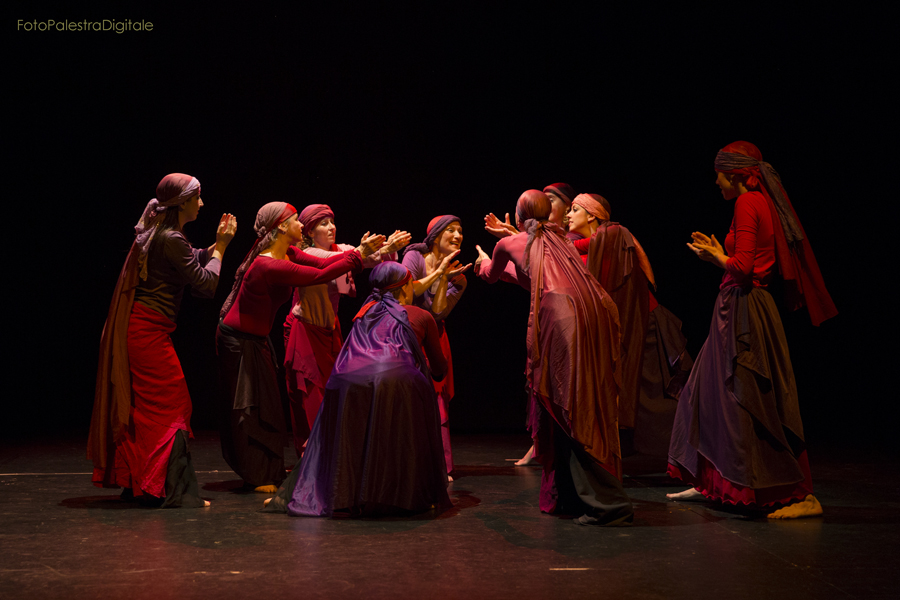 foto del Saggio di Lyrical Arab Dance