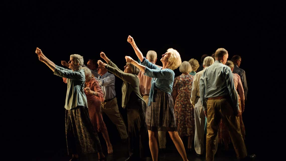 la danza per il benessere degli anziani